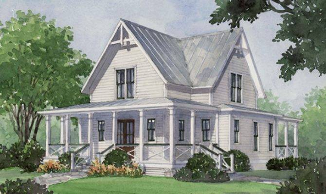 House Plan Four Gables Southern Living