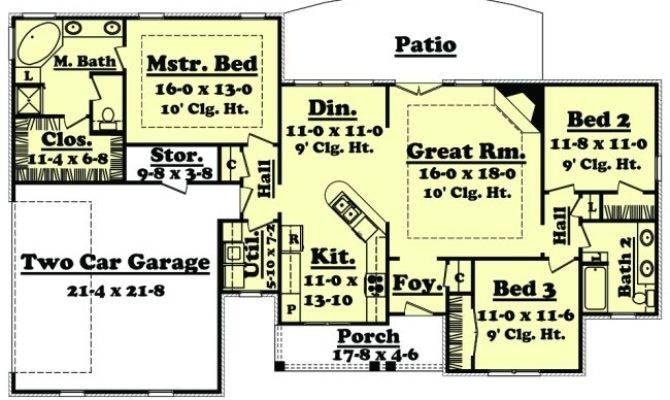 House Plan Melissa Planhouse Home