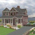 House Plan New England Country Cape Cod