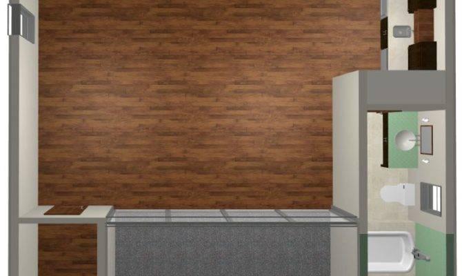 House Plan One Bedroom Studio Guest