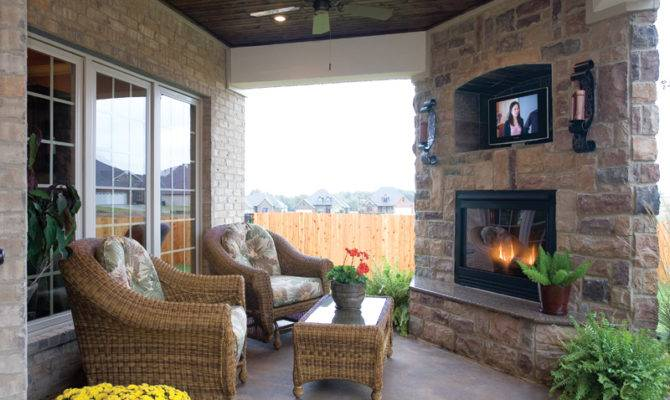 House Plan Outdoor Living Plans More
