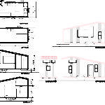 House Plan Section Elevation