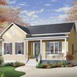 House Plan Simple One Story Bungalow Square Feet
