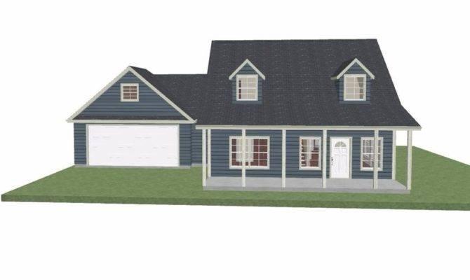 House Plan Story Cape Cod