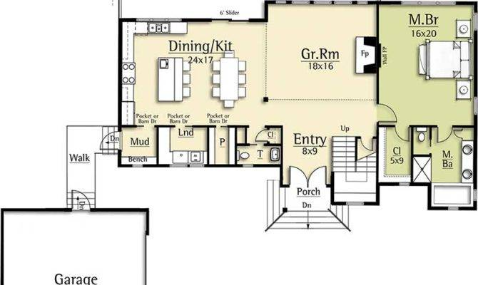 House Plan Two Story Great Room