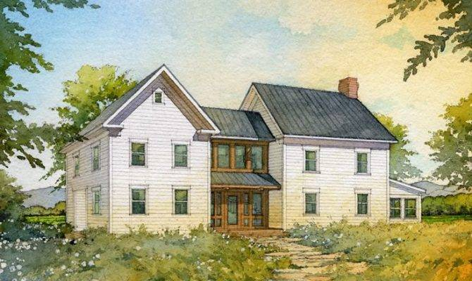 House Plans American Homestead Revisited Farmhouse