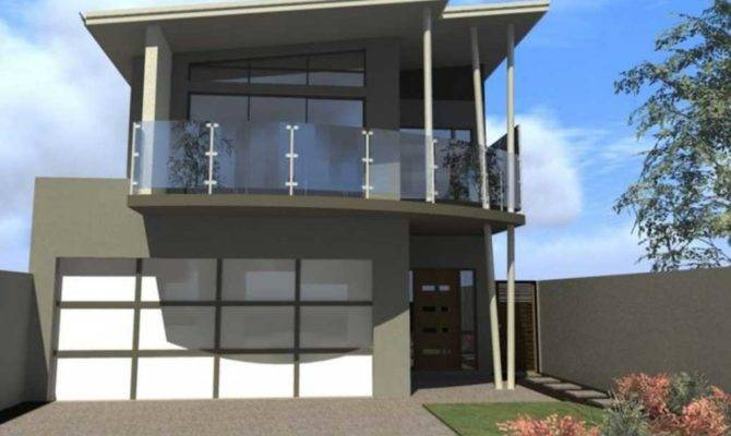 House Plans Balcony Two Story