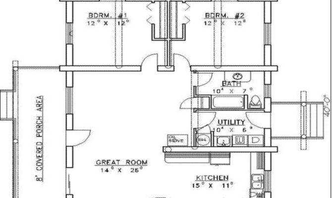 House Plans Bedrooms Baths Foot