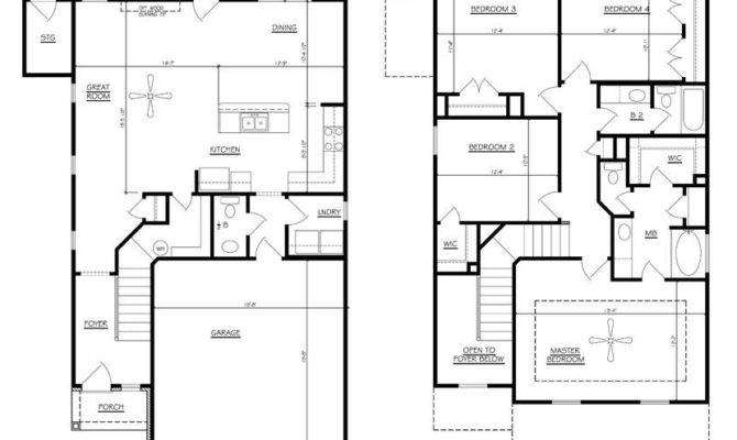 House Plans Bedrooms Home Deco