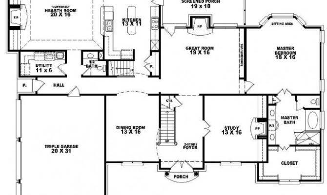 House Plans Bonus Room Smalltowndjs