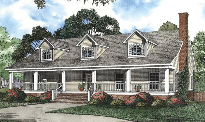 House Plans Cape Cod New England Luxury