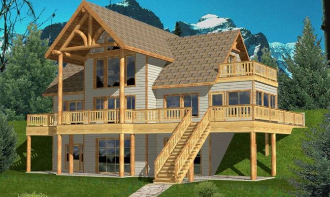 House Plans Contemporary Country Lake