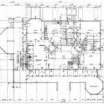 House Plans Cottage Victorian Bed Breakfast Floor
