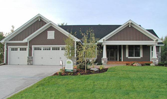 House Plans Country Craftsman Ranch