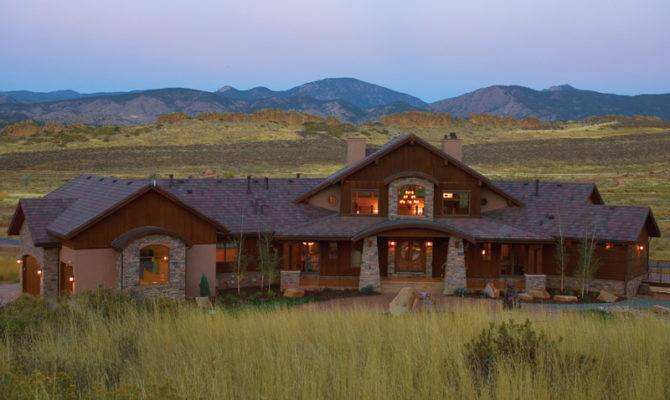 House Plans Craftsman Luxury Mountain Home