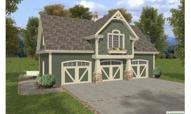 House Plans Craftsman Style Carriage Car Garage