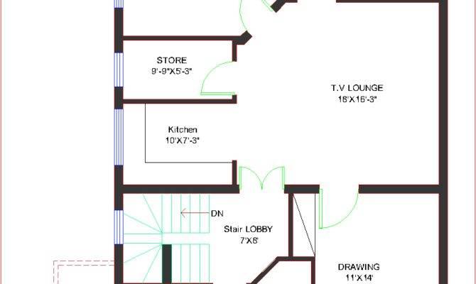 House Plans Design Architectural Marla