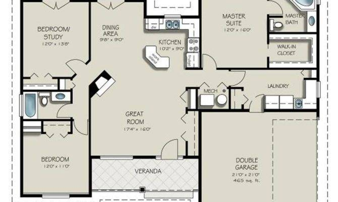 House Plans Design India Bedrooms Baths