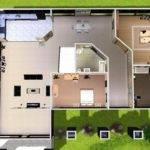 House Plans Design Modern Sims