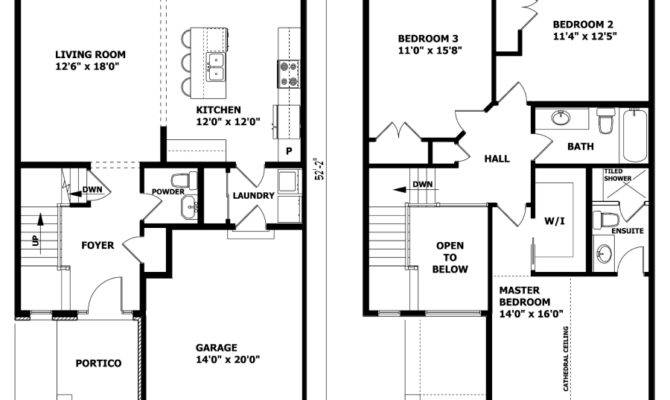 House Plans Design Modern Two Floors