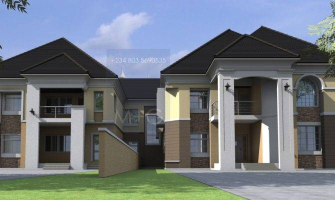 House Plans Design Nigerian Architectural Home Designs