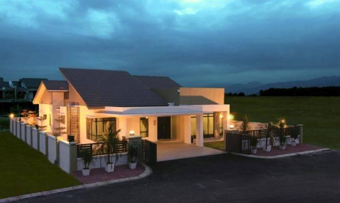 House Plans Design Plan Single Storey Bungalow