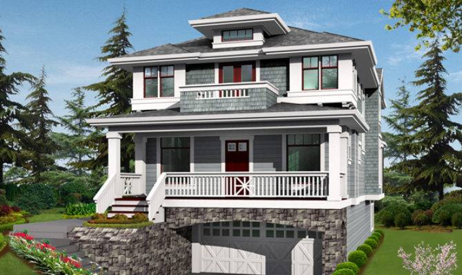 House Plans Design Two Story Balcony