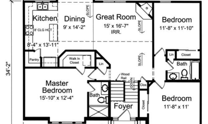 House Plans Drawn Level Split Foyer Studer