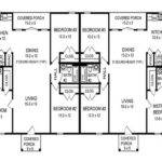 House Plans Duplex Building Cabin Garage Also