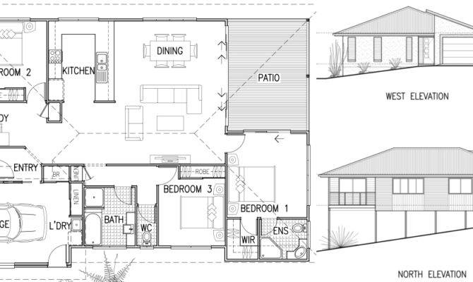 House Plans Elevation Section Ideas Home
