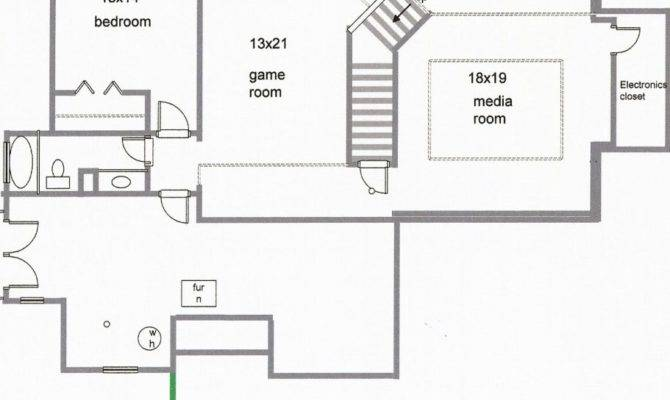 House Plans Finished Basements Fresh Ranch
