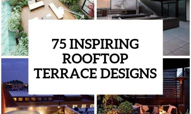 House Plans Flat Roof Terrace