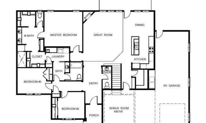 House Plans Garage Home Design Style