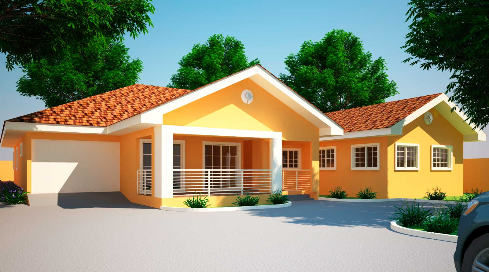 House Plans Ghana Jonat Bedroom Plan - Home Plans ...