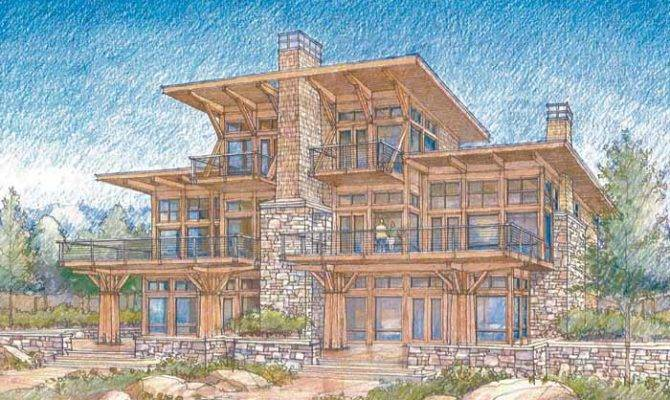 House Plans Home Designs Blog Archive Luxury Waterfront