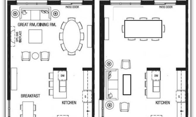House Plans Large Dining Rooms Design
