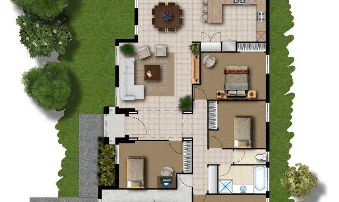 House Plans Living Room Front Smileydot