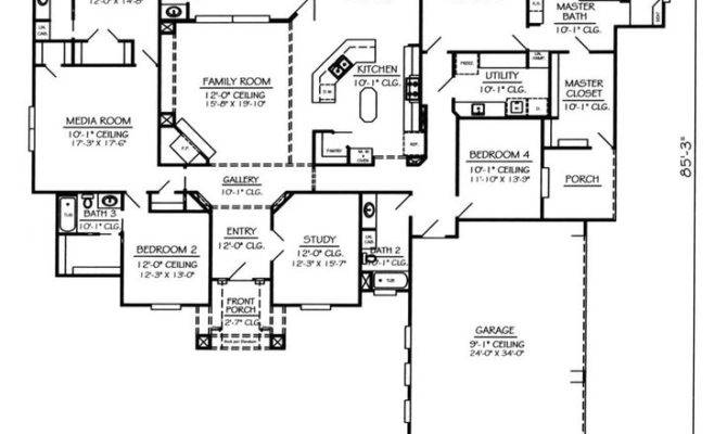 House Plans Living Room Front Theparty