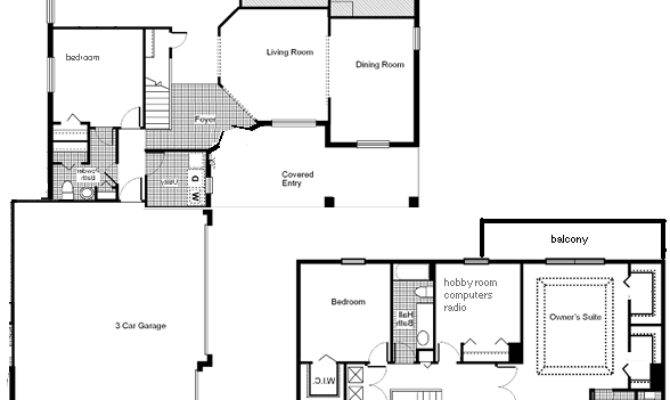 House Plans Living Room Upstairs