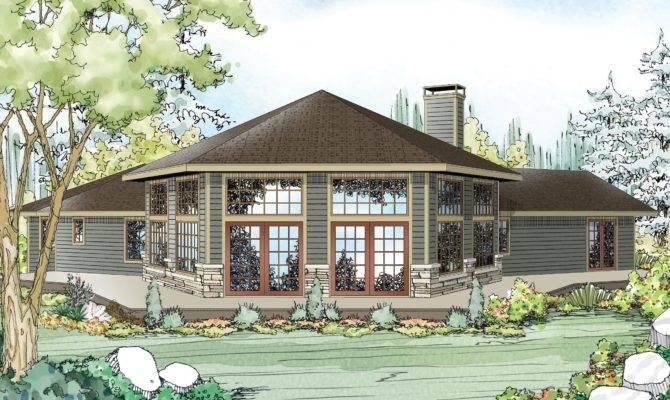 House Plans Lots Windows Home Design