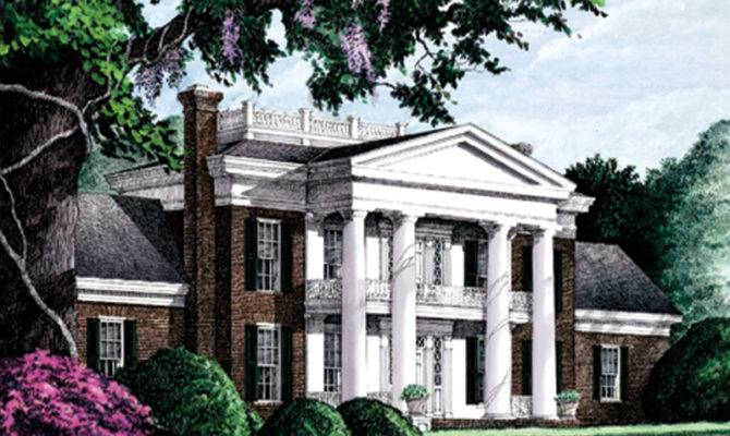 House Plans Luxury Southern Plantation