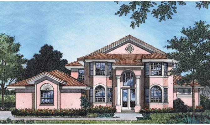 House Plans Mediterranean Sunbelt Home More