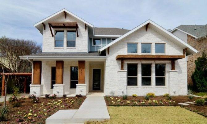 House Plans Modern Exterior Texas Dallas Country Home