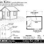 House Plans Moreover Cabin Floor Under