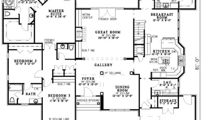 House Plans Mother Law Suites Plan