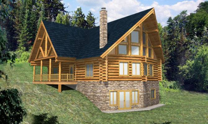 House Plans Mountain Home Country Rustic