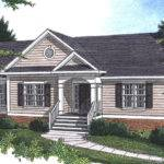 House Plans Neoclassical Home Ranch Southern