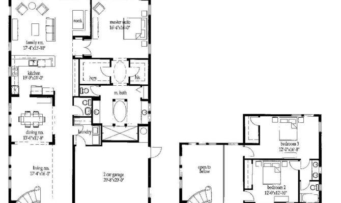 House Plans Only Master Suite Upstairs