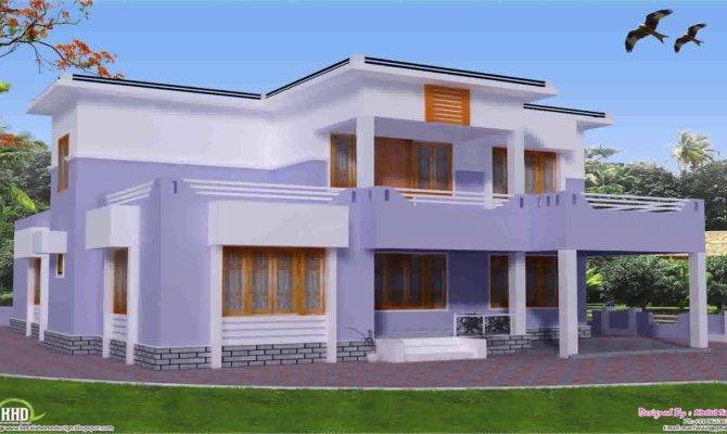 House Plans Parapet Roof Youtube