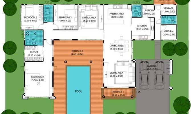 House Plans Pools Smalltowndjs